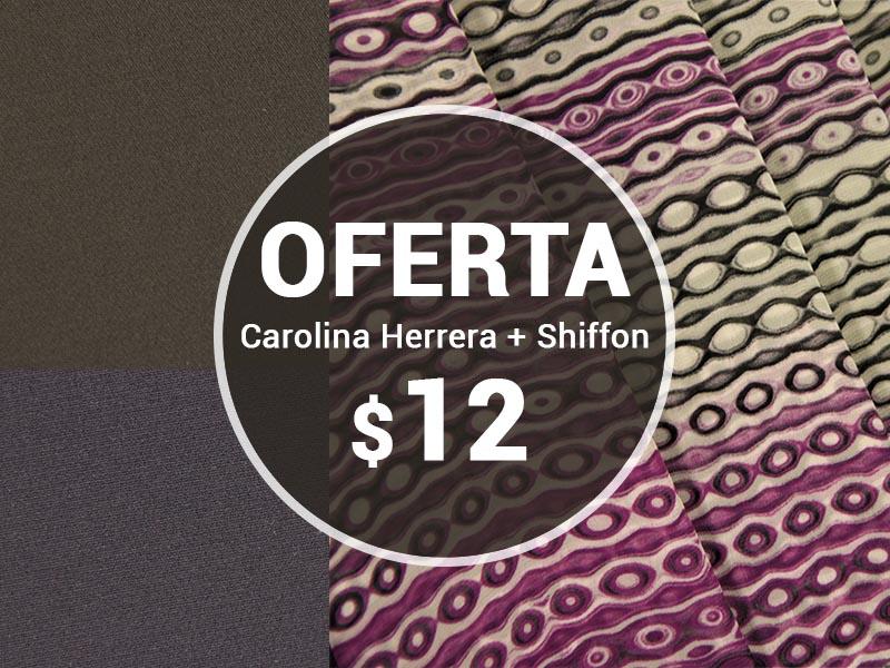 OFERTA CAROLINA HERRERA + SHIFLON