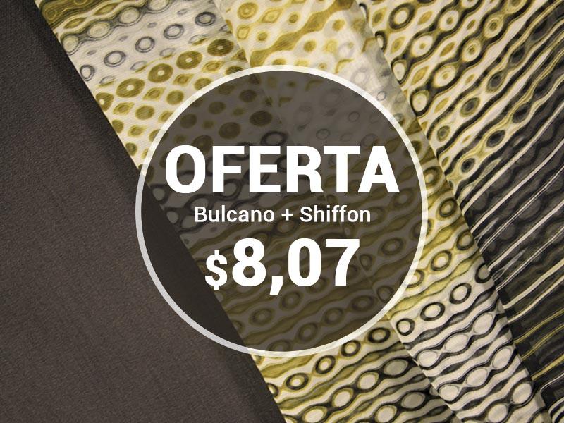 OFERTA BULCANO + SHIFLON