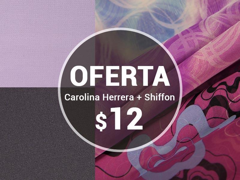 CAROLINA HERRERA + SHIFLON
